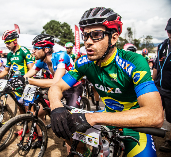 Rubens Donizete é o titular da equipe masculina na categoria cross-country de mountain bike