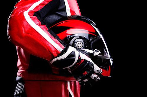 Teste de capacetes