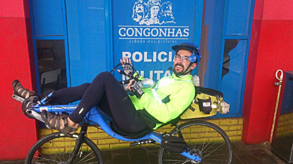 Desafio do ciclismo teve largada e chegada em Congonhas, para os que participaram da BRM 200