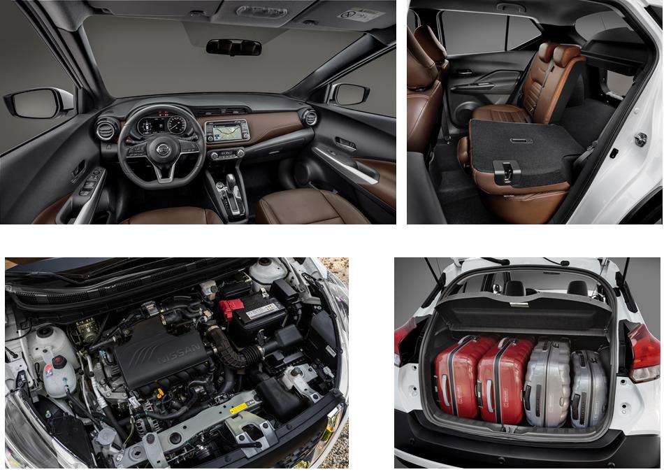 Detalhes que fazem do Nissan Kicks um modelo atraente e que chega para a disputa acirrada no segmento de crossover