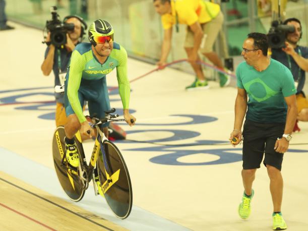 Cearense Gideoni Monteiro terminou as disputas do Omnium em 13º. lugar, modalidade que exige versatilidade e resistência