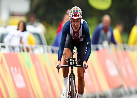 Na modalidade Contrarelógio, a norte-americana Kristian Armstrong ficou com a medalha de ouro