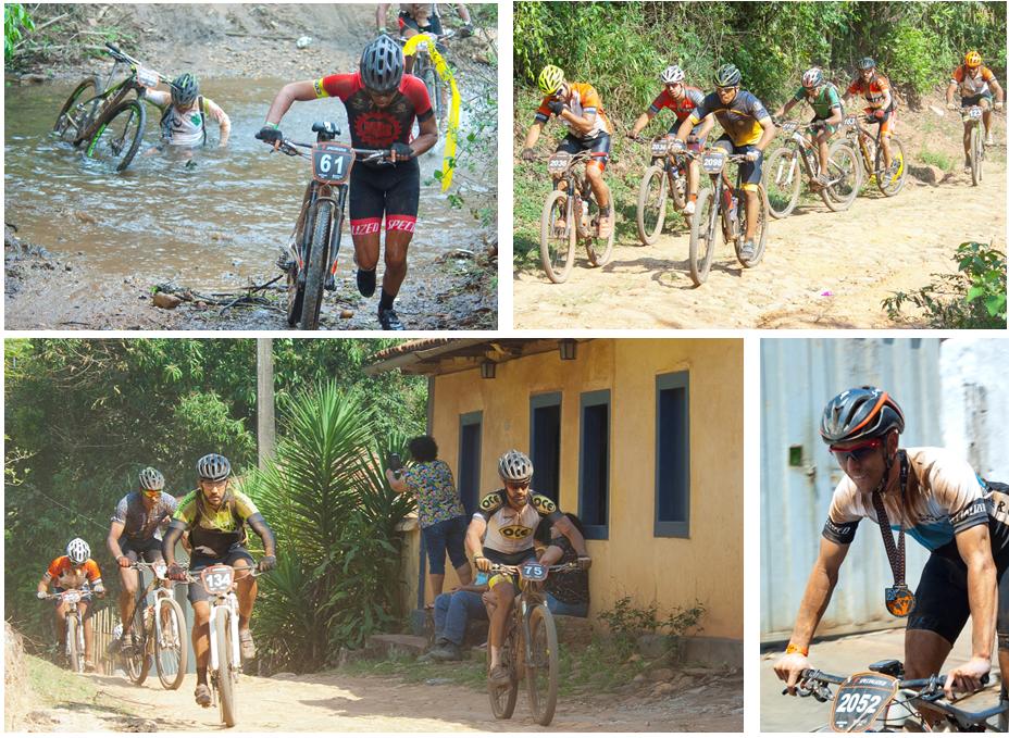 Percurso exigiu muita resistência dos participantes que pedalaram mais de 100 quilômetros