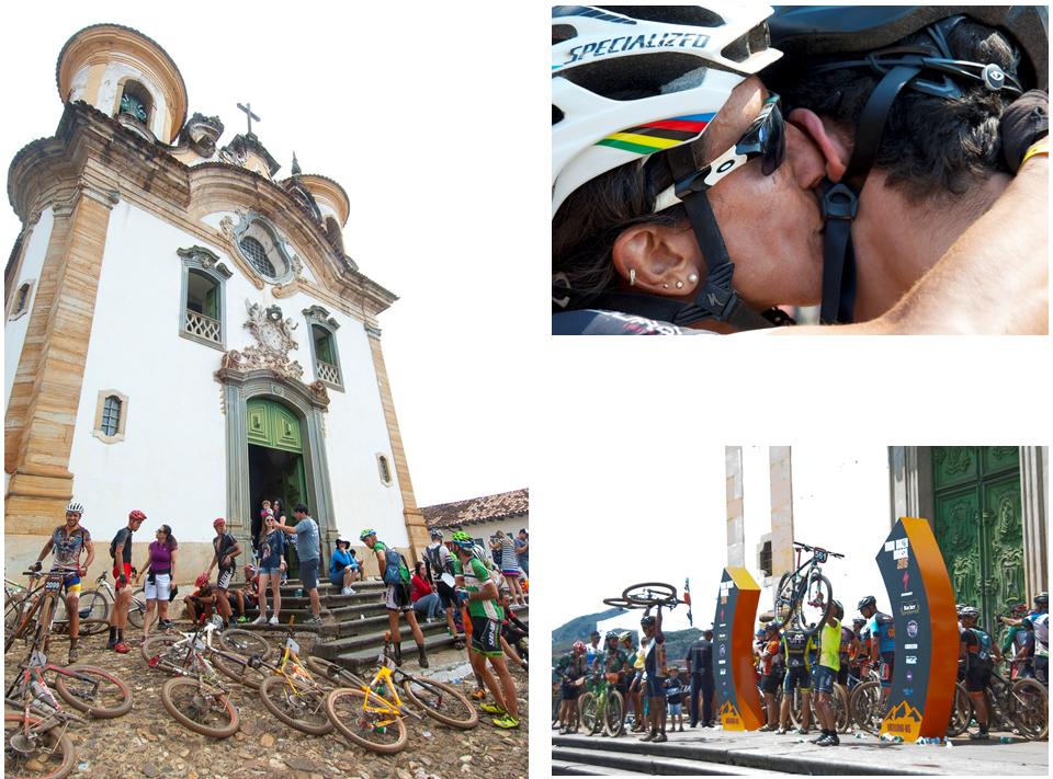 Lembranças do Iron Biker 2016: do descanso no pé da igreja histórica até os cumprimentos aos vencedores