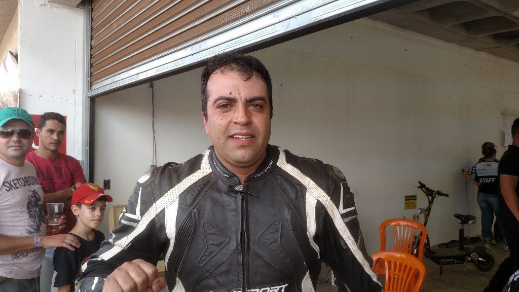 O mineiro Túlio Santos foi o segundo na categoria 600 Light