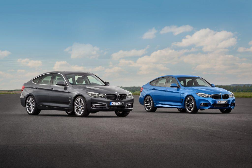 O novo BMW Série 3 Gran Turismo terá uma opção mais sóbria e outra esportiva, disponível só na exclusiva cor azul Estoril