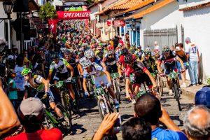 largada Iron biker  Brasil, dia 19/09/2015 em Mariana/MG