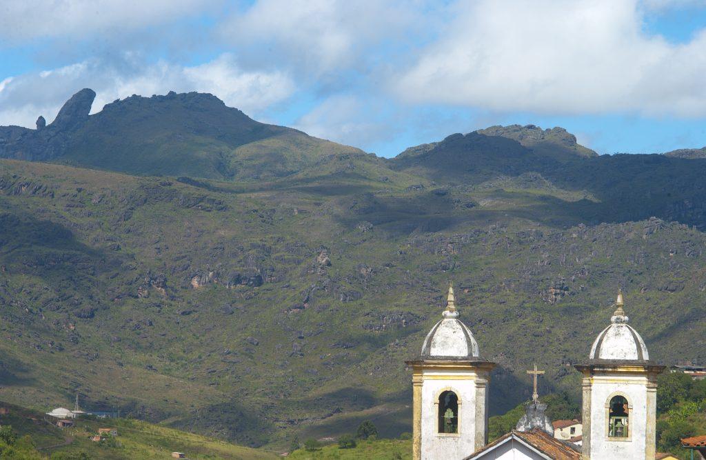 Pico do Itacolomi no Parque Estadual em Ouro Preto onde rola a etapa da Copa Minas de mtb