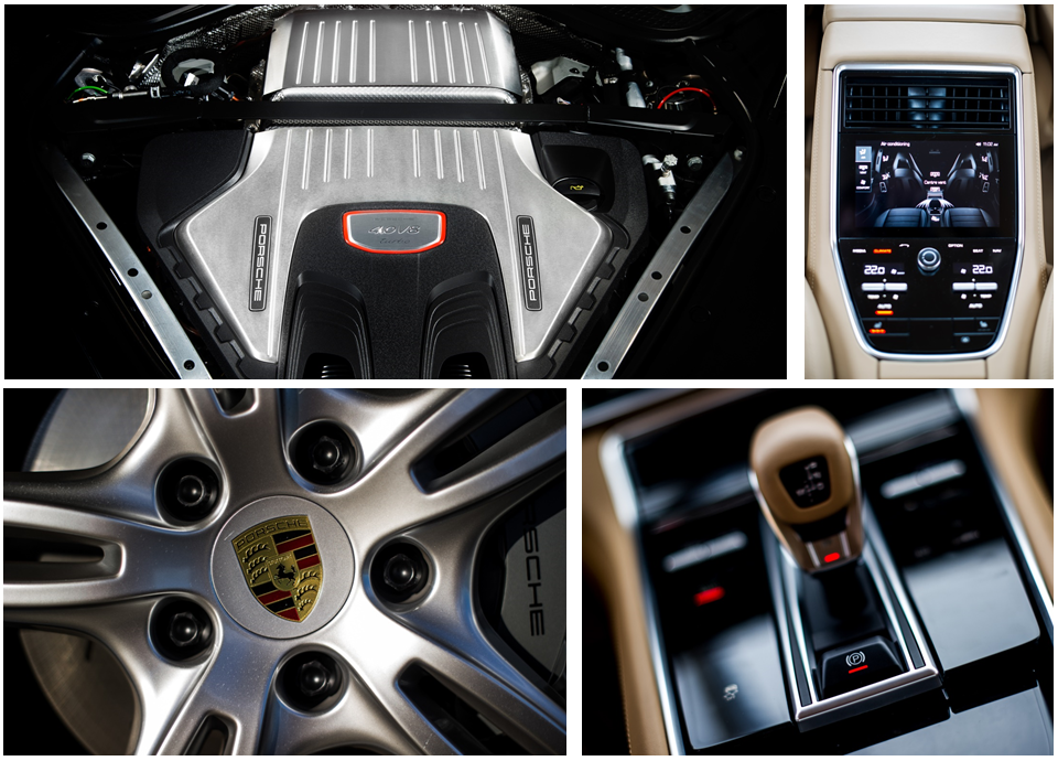 Motor turbo para todas as versões e acabamento interno padrão luxo: detalhes do Panamera que impressionam