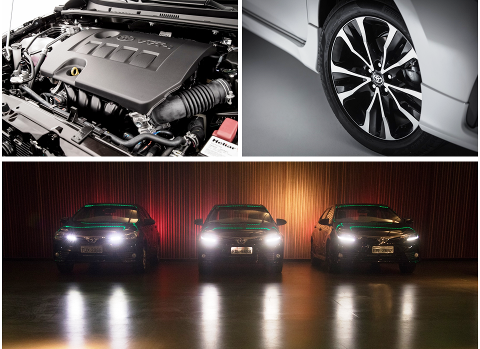 O desempenho do Corolla não foi alterado, já que os motores disponíveis continuam os mesmos 1.8 16V e 2.0 16V, conforme a versão