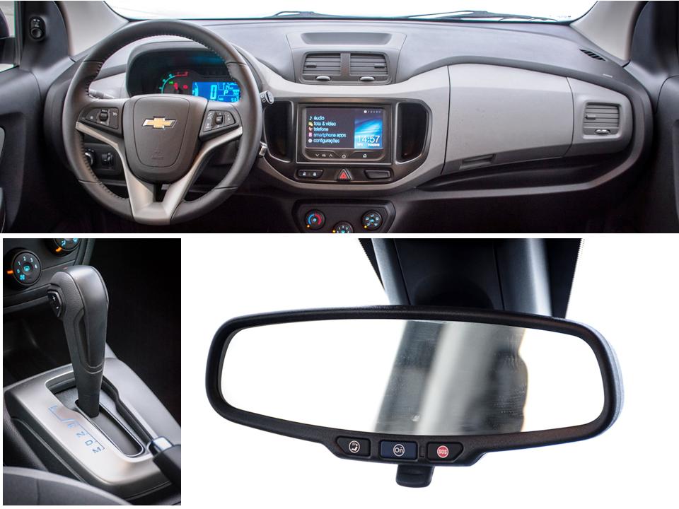 Posição de dirigir de destaque, câmbio suave e OnStar como novidade: detalhes agradáveis do Spin