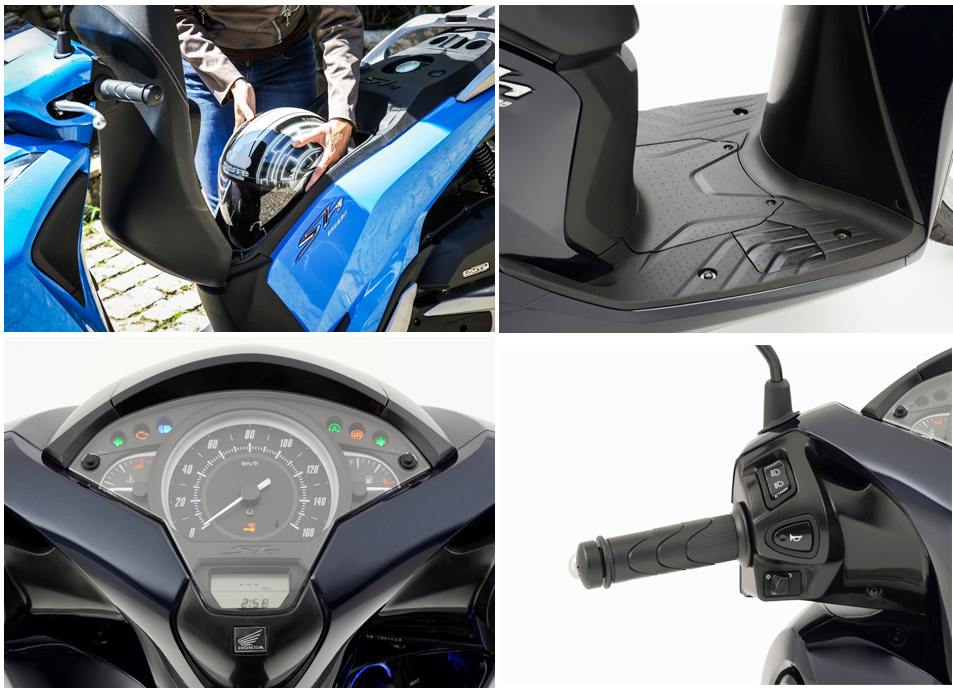 Detalhes moto Honda 1