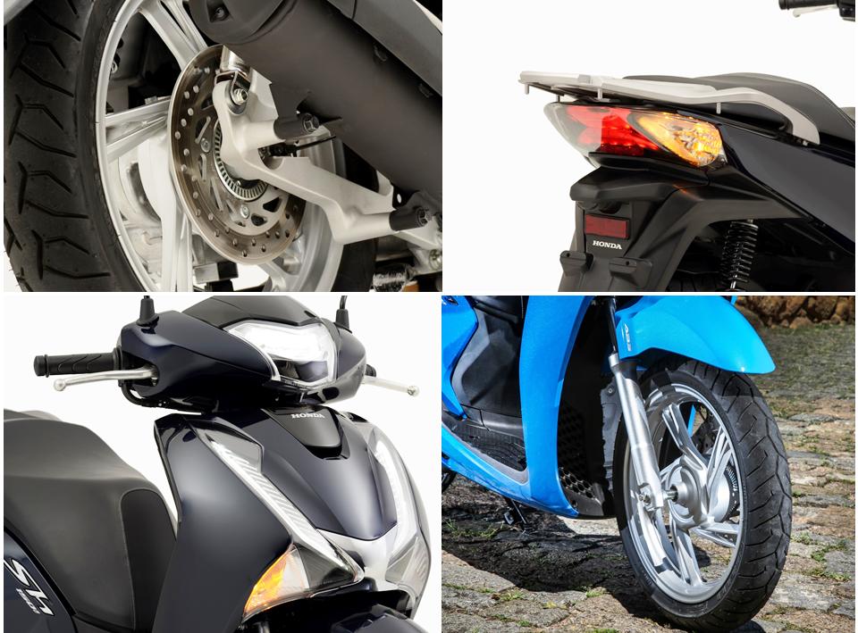 Na galeria de fotos, confira os detalhes de alguns itens de destaque do SH150i, o novo scooter da Honda