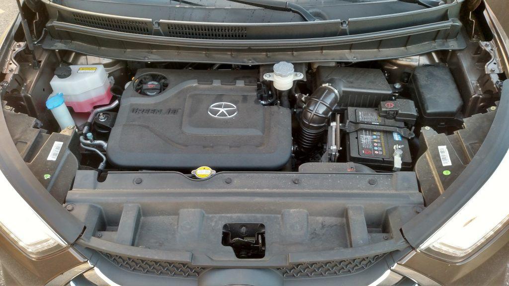 Motor 1.5 Flex, de 16 válvulas, gera potências de 125cv (gasolina) e 127cv (etanol) e torques de 15,5kgfm (gasolina) e 15,7kgfm (etanol)