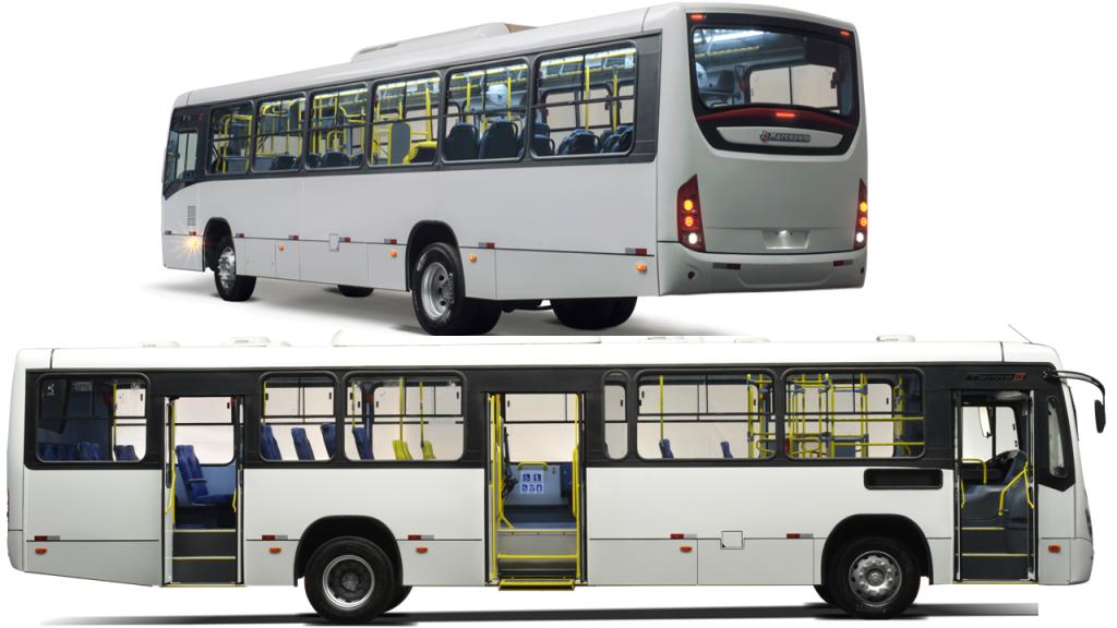 Carroceria permite 24 diferentes  configurações para os  principais modelos de chassis urbanos vendidos no Brasil