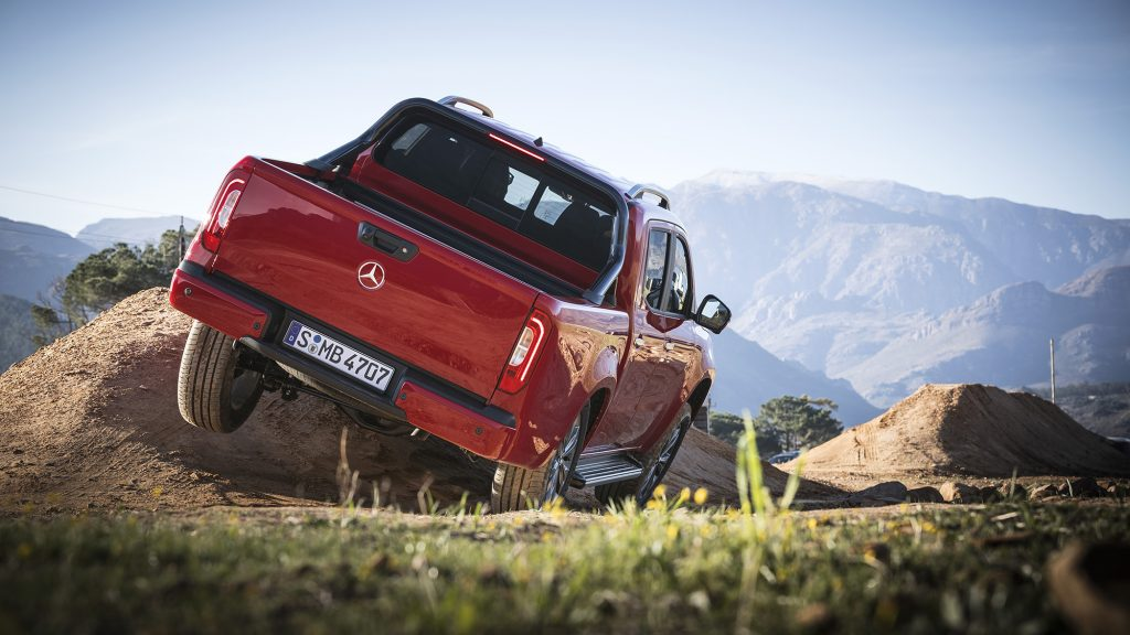 Mercedes-Benz X-Klasse, Cape Town 2017 // Mercedes-Benz X-Class, Cape Town 2017