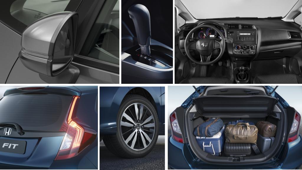 Detalhes internos que passaram por mudanças na edição 2018 do hatch da Honda