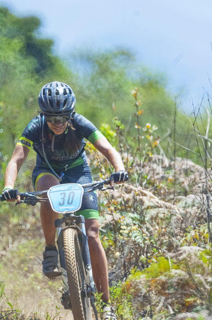 Eliane Resende, campeã feminina do Iron Biker 2017