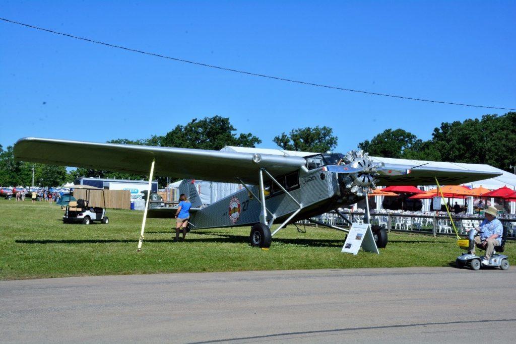 O raro HAMILTON METALPLANE H 47 de 1928 equipado com um motor radial Pratt & Whitney de nove cilindros, que gera 525 HP