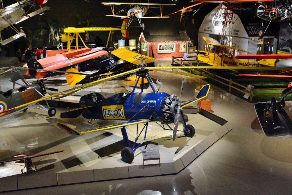 O Museo da EAA é uma atraçãoi imperdível
