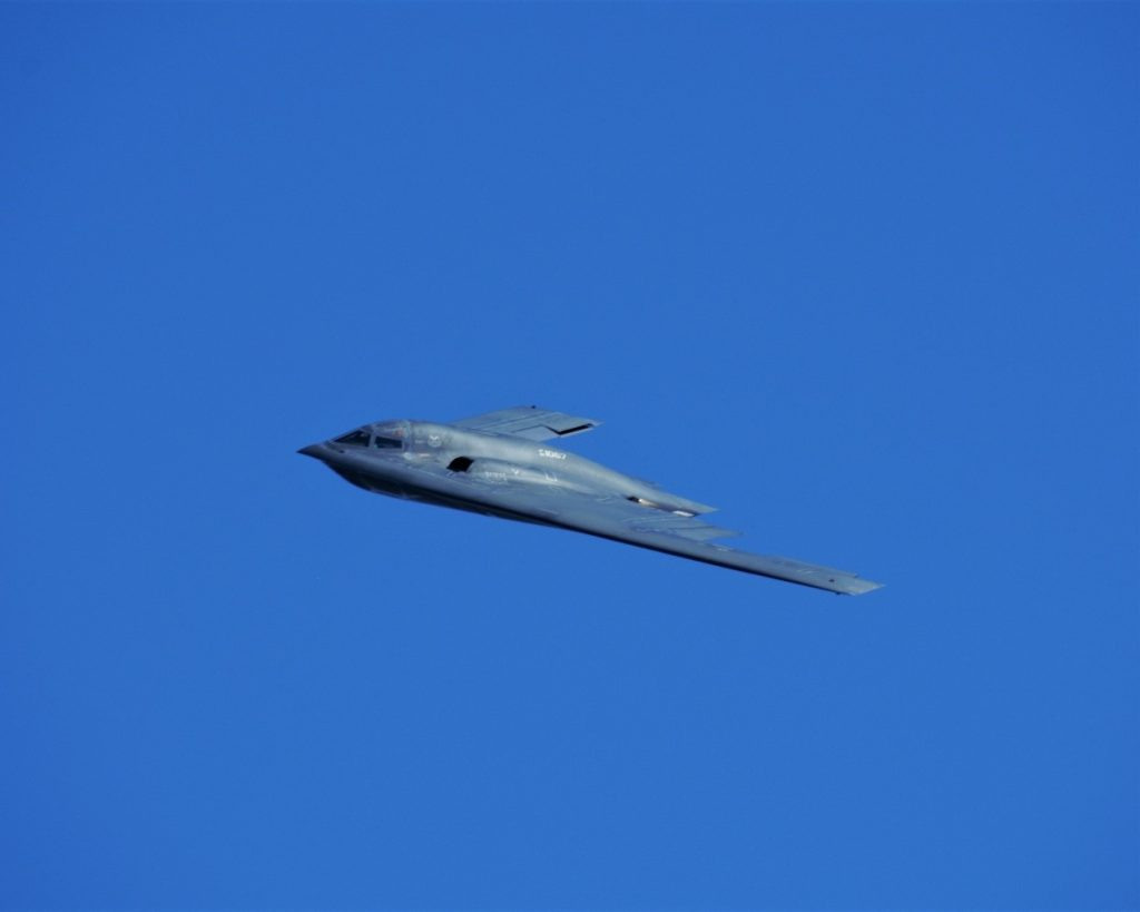 O bombardeiro invisível Northrop Grumman B-2 Spirit