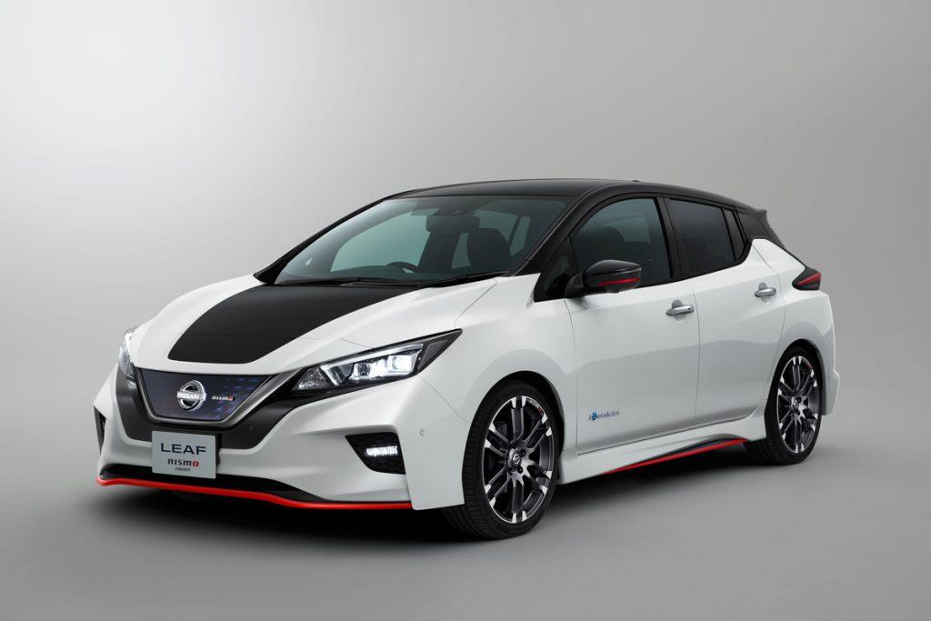 Nissan mostrará LEAF NISMO Concept e Serena NISMO no Salão de