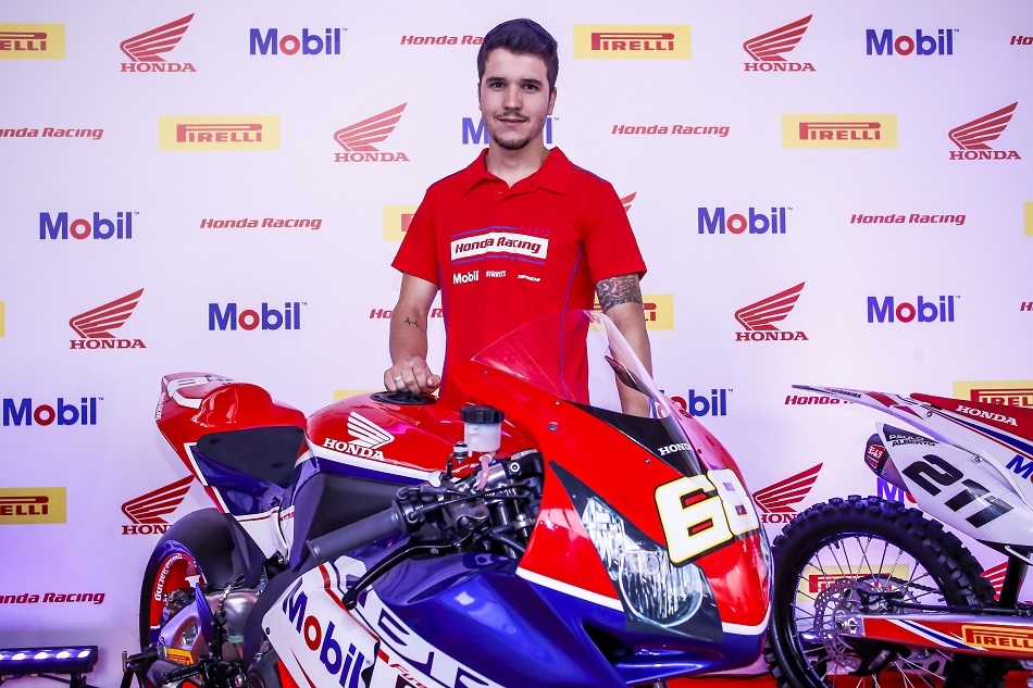 O tricampeão Diego Faustino, da equipe Honda, irá ministrar curso avançado em novembro