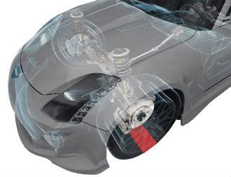Os amortecedores são os principais componentes da suspensão (Foto: Monroe/Divulgação)