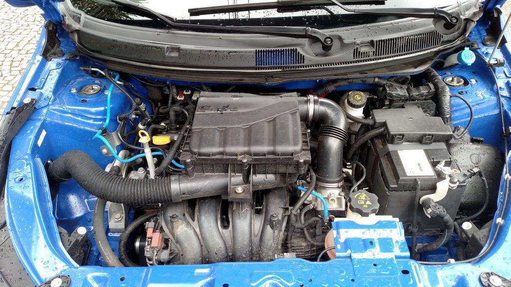 O motor é o já conhecido 1.8 E.torQ, que rende 139cv com etanol e 135cv com gasolina
