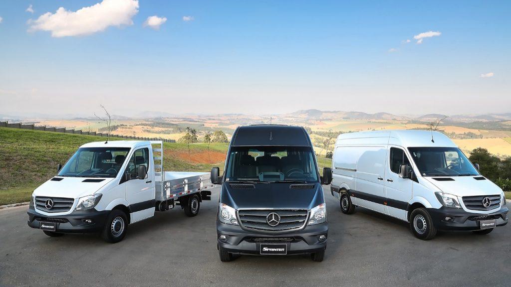 O van Center é voltado para a venda e assistência de furgões e vans da Mercedes