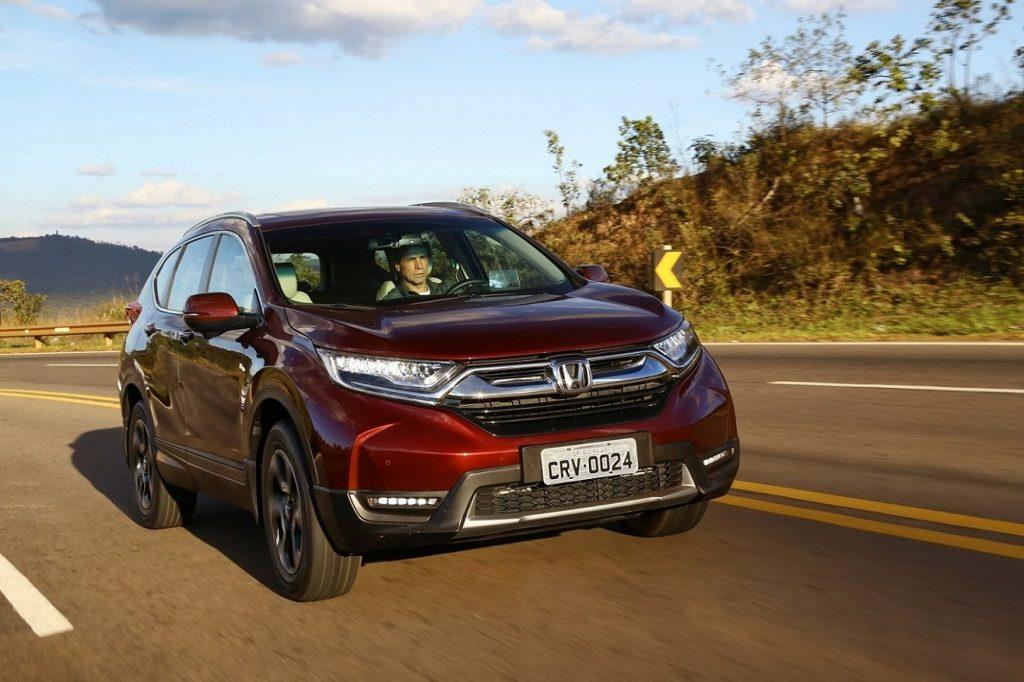 Honda CR-V Teste 12