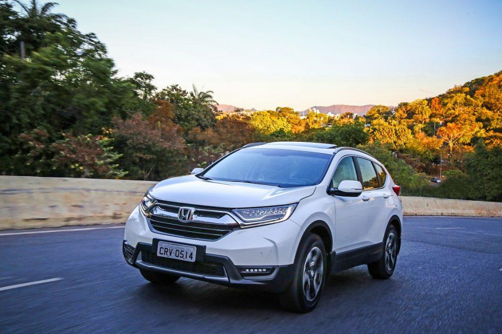 Honda CR-V Teste 6