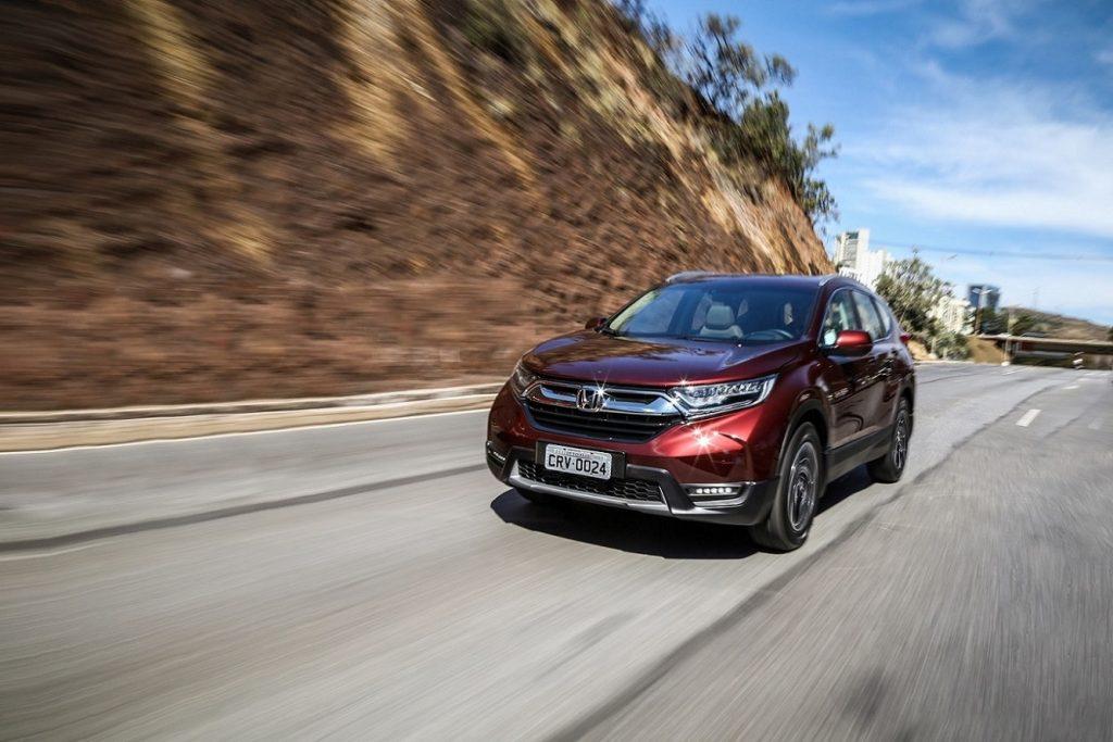 Honda CR-V Teste 7