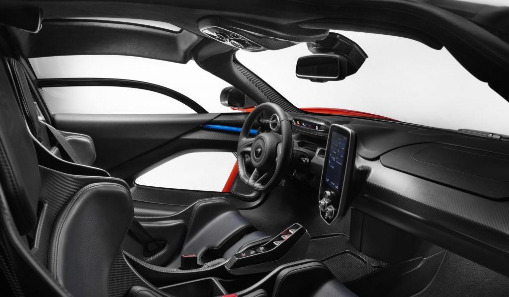 McLaren Senna Interior 3