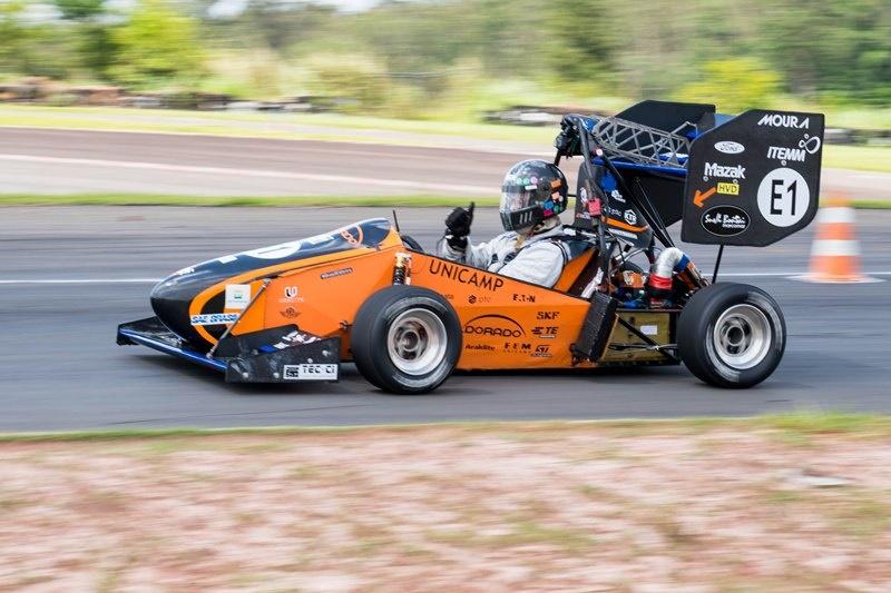 Equipe Unicamp E-Racing foi campeã na Categoria Elétrica