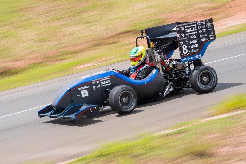 A Mauá Racing ficou ficou com a segunda colocação na Categoria Combustão