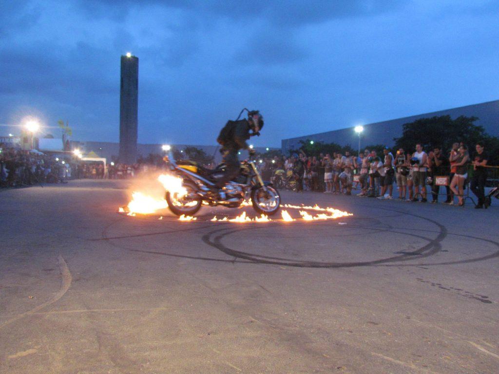 Exibição de motos fazem parte da programação / Foto: SMB