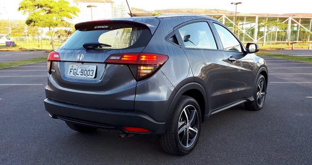 Teste - Honda HRV 4