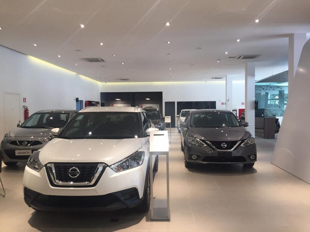 Expectativa da nova concessionária Nissan é vender 60 veículos por mês (Foto: Felipe Guimarães)