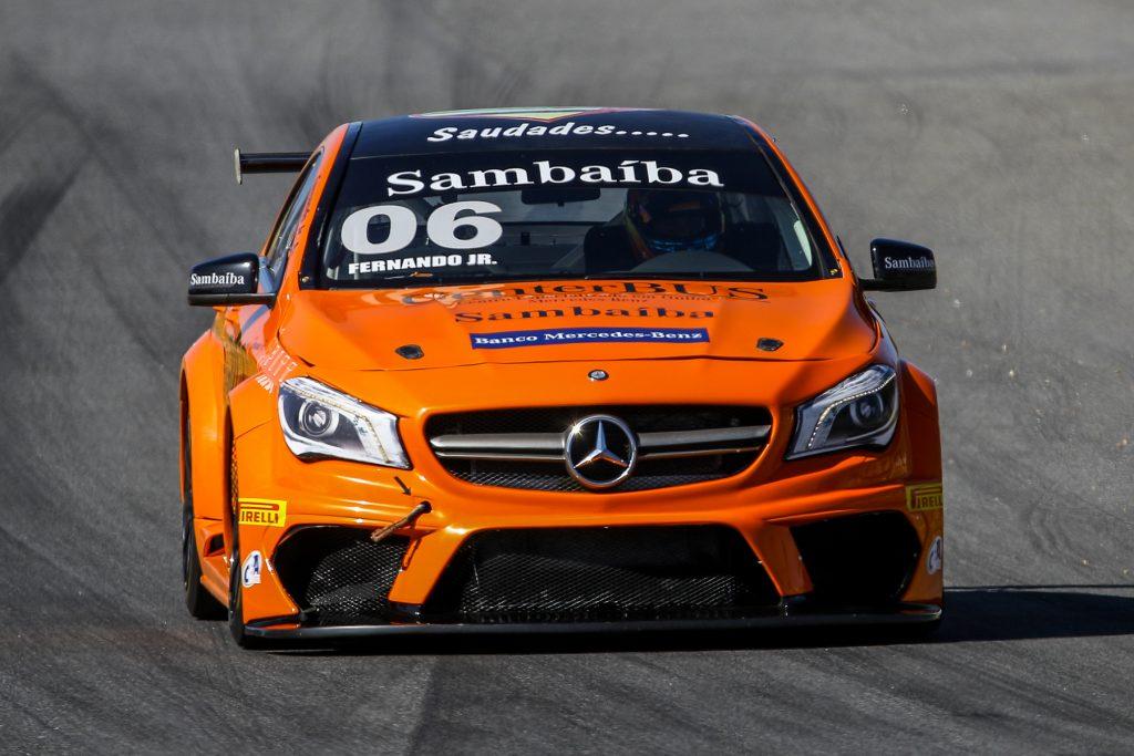 Fernando Jr. será o pole na etapa da Mercedes-Benz Challenge (Foto: Vanderley Soares)