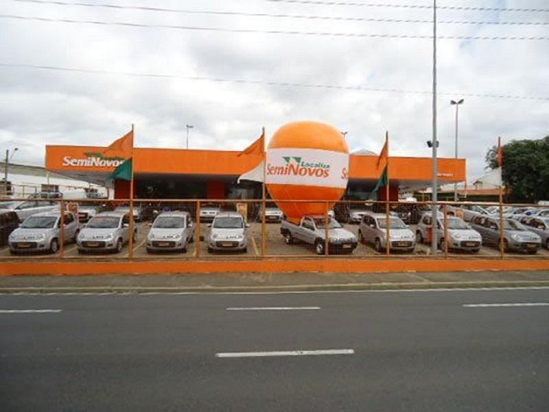Vendas de carros de locadora em alta (Foto: Localiza/Divulgação)